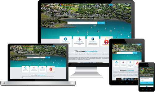 Whitsundays Accommodation displayed beautifully on multiple devices