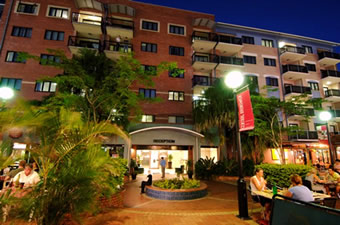 Central Brunswick Apartment Hotel - Whitsundays Accommodation