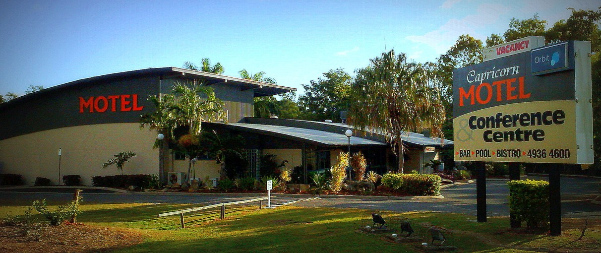 Capricorn Motel  Conference Centre - Whitsundays Accommodation