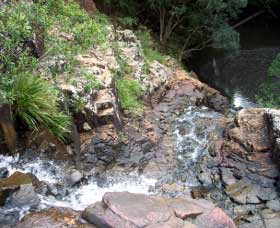 Gypsy Falls Waterfall   Retreat - Whitsundays Accommodation