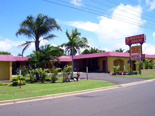 Golden Palms Motor Inn - Whitsundays Accommodation