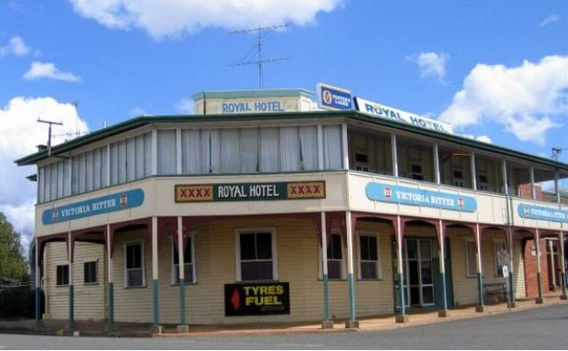 Royal Hotel Mundubbera - Whitsundays Accommodation