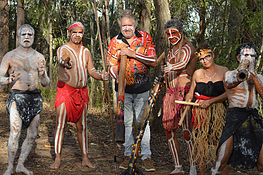 Didgeridoo Jam in the Park - Whitsundays Accommodation