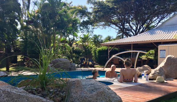Bush Oasis Caravan Park - Whitsundays Accommodation