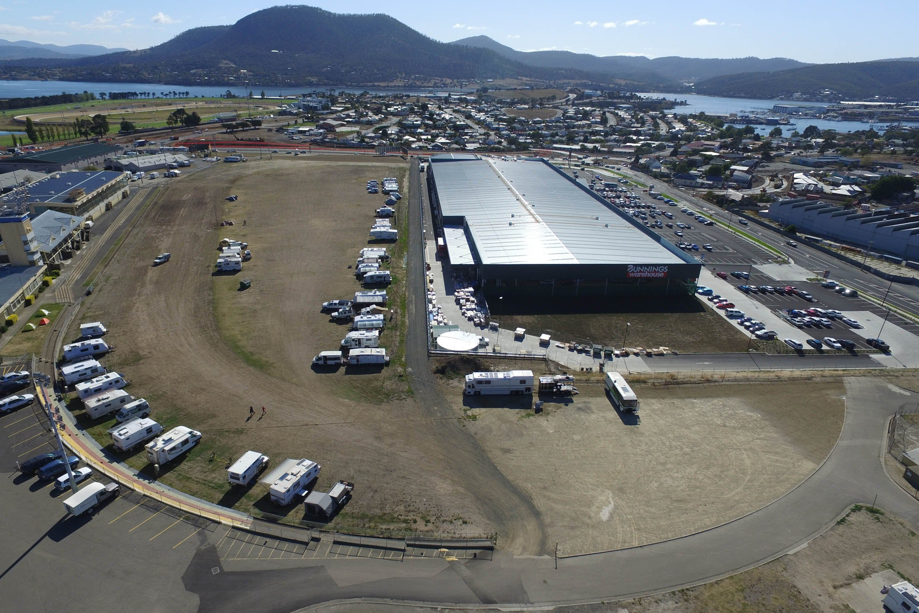 Hobart Showground Motorhome Park - Whitsundays Accommodation
