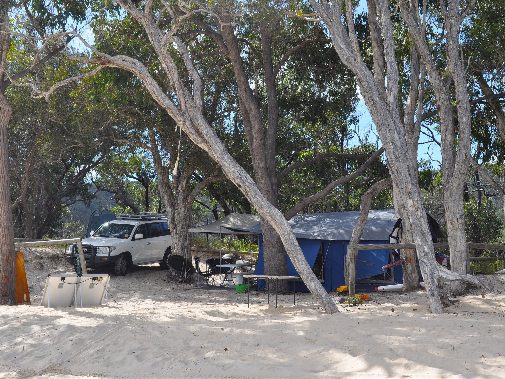 Moreton Island National Park and Recreation Area camping - Whitsundays Accommodation